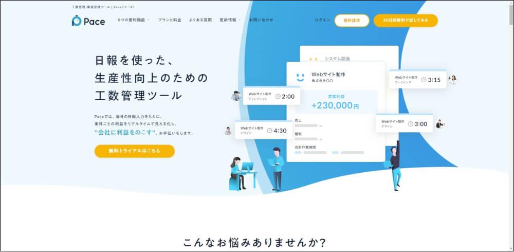 Pace プロジェクト管理ツール